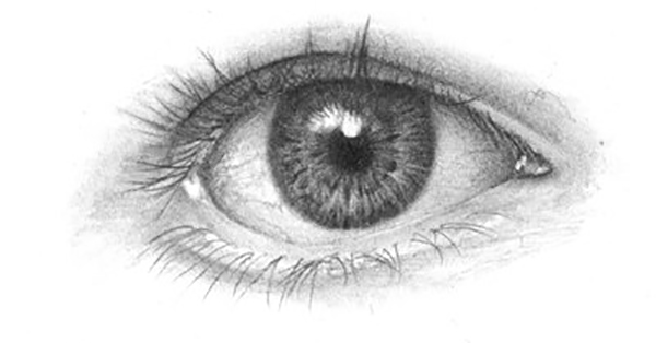 Drawing the human eye onlypencil drawing tutorials
