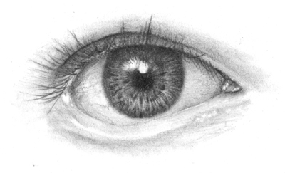 pencil eye drawing tutorial